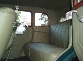 1930s American car for weddings in Swanley